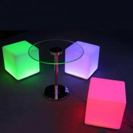 Cubes Lumineux 43cm/43cm multi couleur