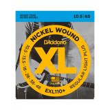 D'ADDARIO CORDES DE GUITARE  EXL110+   10.5/48