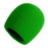 Bonnette vert pour micro